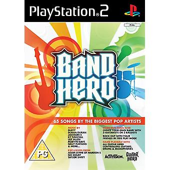 Band Hero - Game Only (PS2) - New Factory Sealed