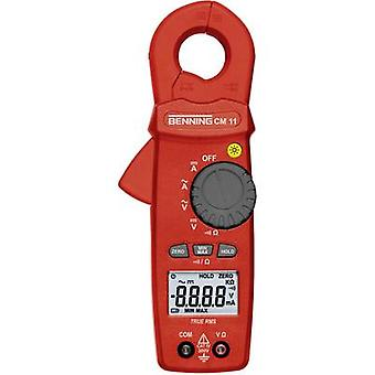 Benning CM 11 Kelepçe metre, El multimetre Dijital CAT IV 300 V Ekran (sayar): 6000