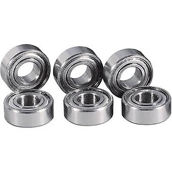 Reely 4X 295620 + 4X 295655 tuning deel Touring Car Ball lager set