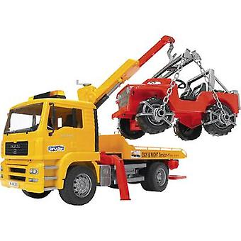 Brother MAN TGA tow truck with off-road vehicles 2750