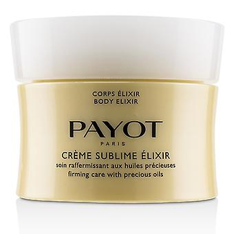 Payot Body Elixir Crème Sublime Elixir Firming Care With Precious Oils - 200ml/6.7oz
