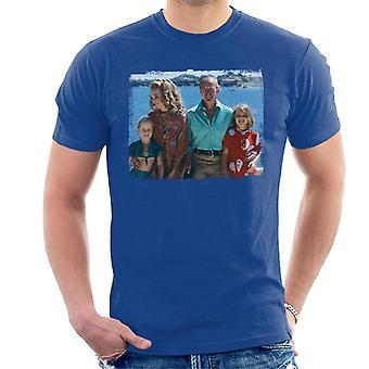 TV ganger David Niven familie 1971 menn t-skjorte