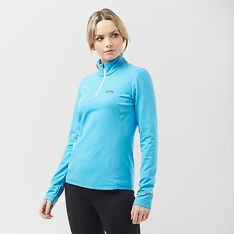 New Gore Women's R3 Long Sleeve ¼ Zip Shirt Bluemoon