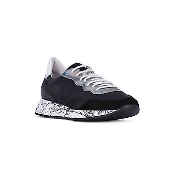 Frau satin black fashion sneakers