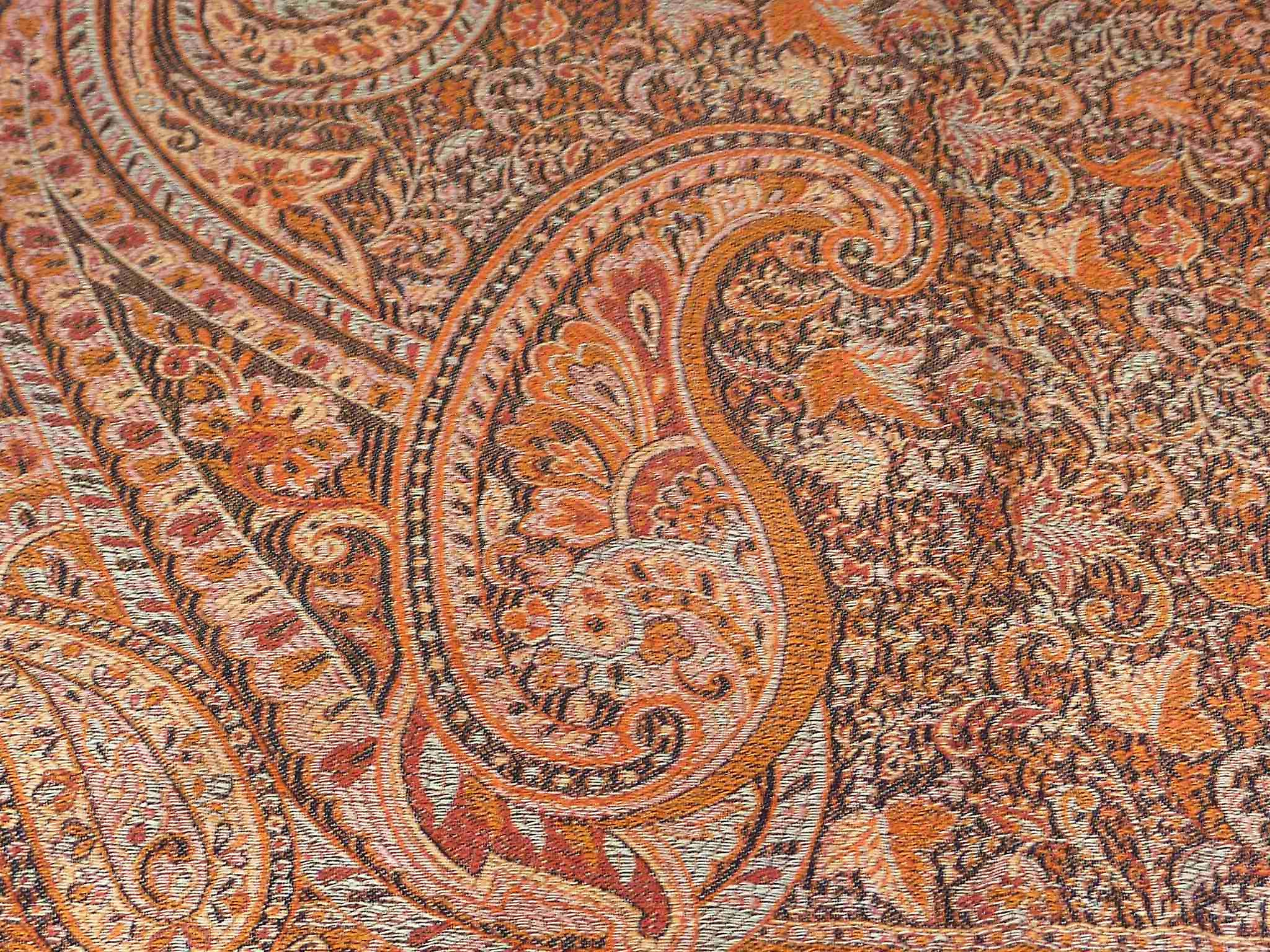 Jamawar Premium Silk Stole Pattern 4011 by Pashmina & Silk