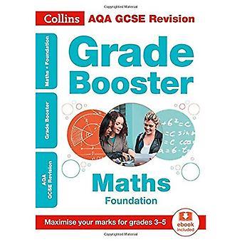 AQA GCSE Mathematik Stiftung Grade Booster für Klasse 3-5-Collins GCSE 9-1 Revision