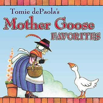 Tomie De Paolas favoritos de Mamá Ganso: Fácil de leer poco motor que podría