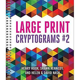 Stor utskriften Cryptograms #2