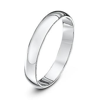 Anneaux de mariage Star Platinum Heavy D 3mm bague de mariage