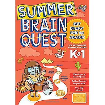 Quête de cerveau d'été: Entre catégories K & 1 (Summer Brain Quest)