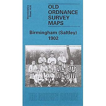 Birmingham (Saltley) 1902 [Folded Map]