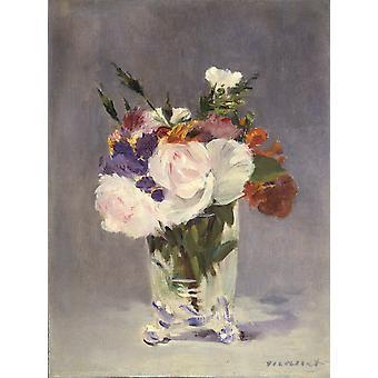 الورود، إدوارد جيليين، 50x37cm