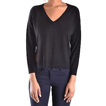 Pinko Ezbc056175 Women's Black Viscose Sweater