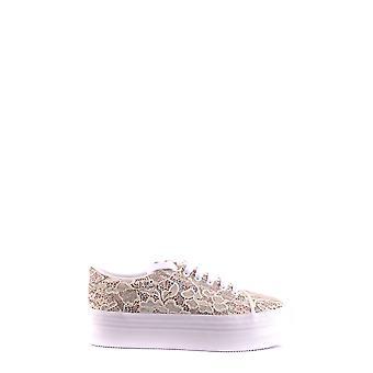 Jeffrey Campbell Ezbc132047 Women's White Fabric Sneakers