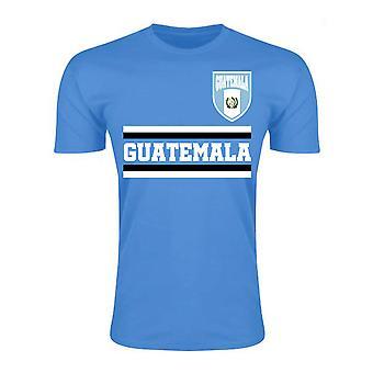 غواتيمالا الأساسية لكرة القدم البلد تي شيرت (السماء)