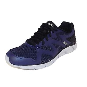Fila Mens Memory Cryptonic Low Top Lace Up Running Sneaker