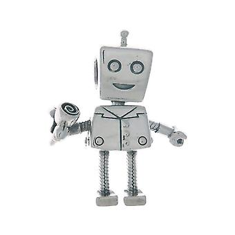 PANDORA Rob Bot Dangle Charm 925 Sterlingsilber - 797819