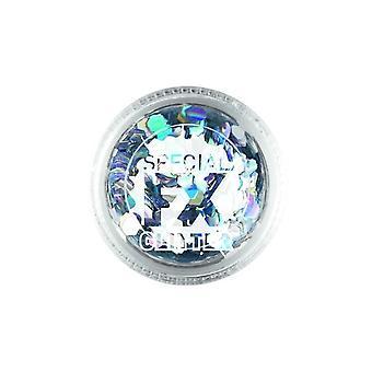 Confetti glitter prata 2G solta, Facepaint/maquiagem