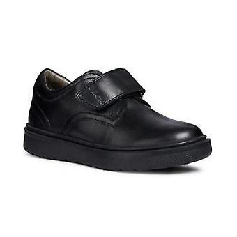 Geox Boys J Riddock B. G Touch Fastening Leather Shoe