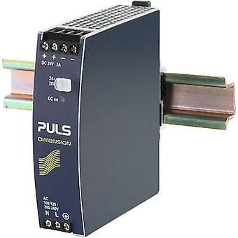PULS DIMENSION CS5.241 Rail mounted PSU (DIN) 24 V DC 5 A 120 W 1 x
