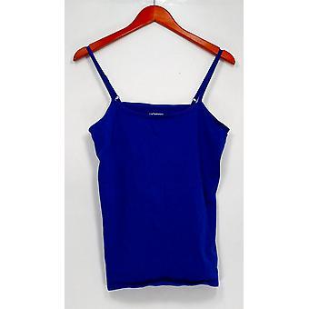 Liz Claiborne New York Women's Top Essentials Scoop Neck Blue A264114