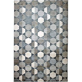 Pierre Cardin Design matto akryyli valkoinen/harmaa