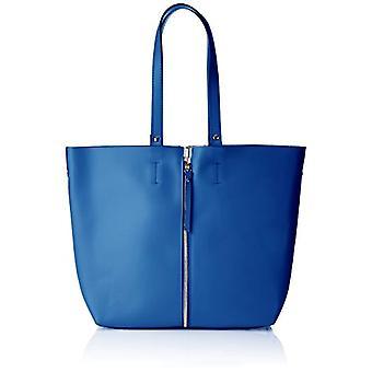 Chicca Bags 8608 Blue Women's shoulder bag (Blue) 33x30x13 cm (W x H x L)
