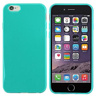 iPhone 6 Plus Siliconen Hoesje Turquoise - CoolSkin