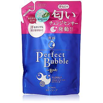 Shiseido Senka Perfect Bubble Floral Body Wash Ricarica 350ml