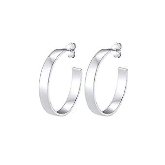 Elli Silver Women's Hoop Earrings 302991218