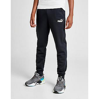 New Puma Boys' Core Logo Track Pants Black