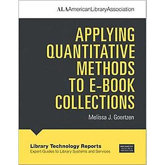 تطبيق الأساليب الكمية لمجموعات الكتاب الإلكتروني بفريق الخبراء جيه ميليسا