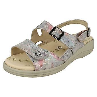 Ladies Padders Wide Fitting Slingback Sandals Sunray