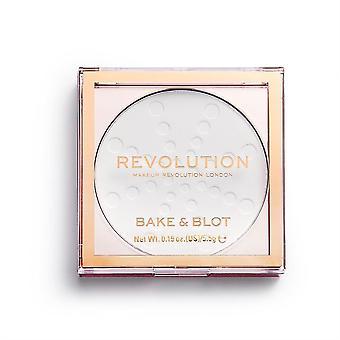 Maquillaje Revolución Bake & Blot-White