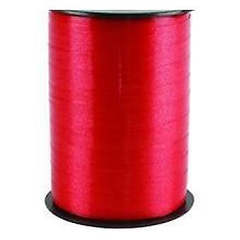 250m Punainen 10mm leveä curling nauha | Lahjapaketointi tarvikkeet