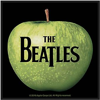 The Beatles Patch Apple and Band Logo new Official Woven Iron on (10cmx10cm)