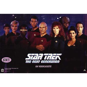 Star Trek: Next Generation (Video) Original Video/Dvd Ad Poster