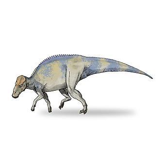 Klistermärke klistermärke dinosaurie Dino Jurassic Deco barn Brachylophosaur