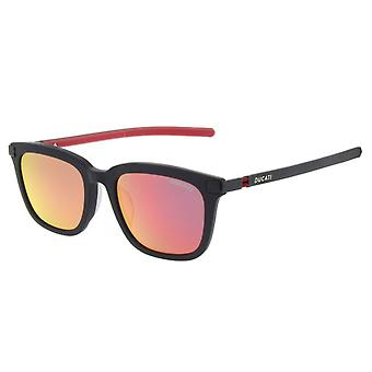 Ducati DA9001 002 Matte Black/Brown-Red Mirror Glasses