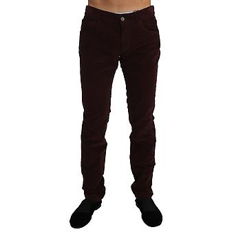 Dolce & Gabbana Corduroys Classic Brown Stretch Pants Jeans -- PAN6216432