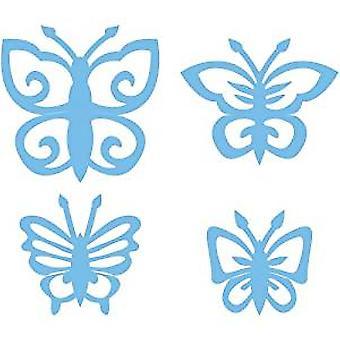 Marianne Design Schmetterlinge Creatable Die, Pack of 4, Blue