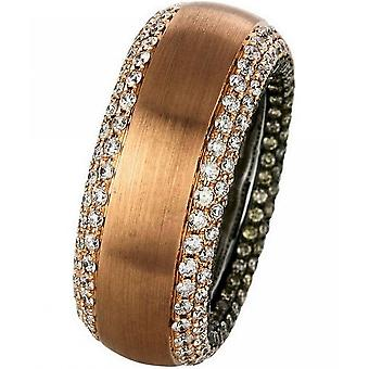 Diamantring Ring - 18K 750 Rotgold - Weissgold - 2.83 ct.