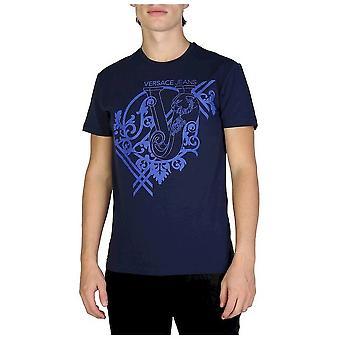 Versace Jeans-vaatetus-T-paidat-B3GSB74G_36643_238-miehet-Navy, Sininen-XXL