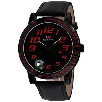 Seapro Men's Raceway Black Dial Watch - SP5114