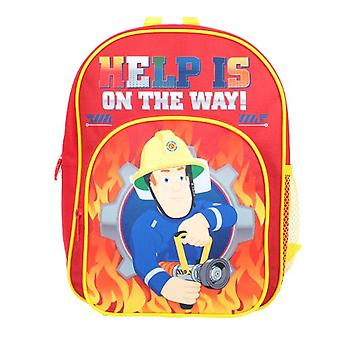Fireman Sam Jerry Children's Backpack, 30 cm, 4L, Red