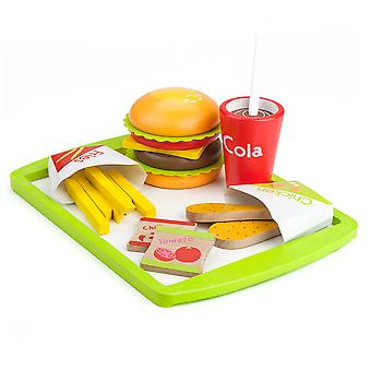 Fast Food Deluxe Abendessen