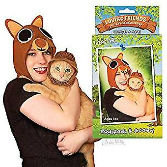 Kitty Cuddle Costumes - Archie McPhee - Squirrel & Acorn New 12882