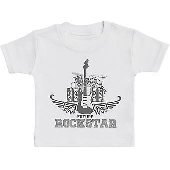 Future Rockstar Baby T-Shirt - Baby TShirt Gift - Baby Tee - Baby Gift