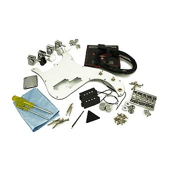WD Music Replacement P Bass Parts Kit Chrome