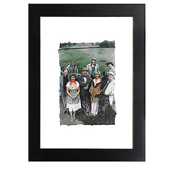 TV Times A Selection Of Characters From Emmerdale Farm 1978 Framed Print